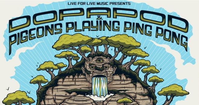 Dopapod & Pigeons Playing Ping Pong