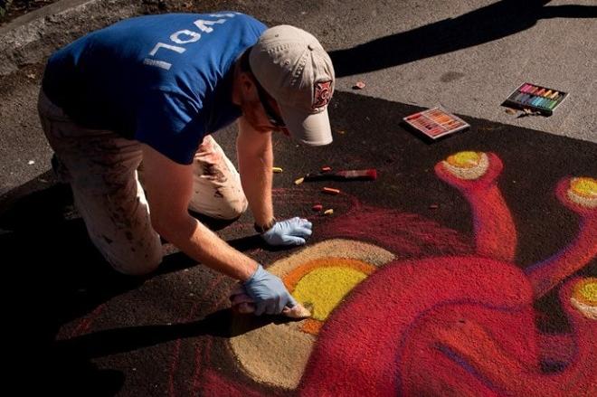 Tivoli Street Painting Festival