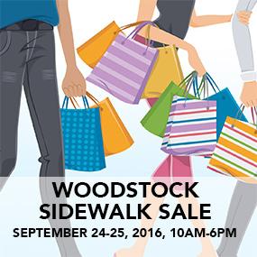 Live Broadcast at the Woodstock Sidewalk Sale