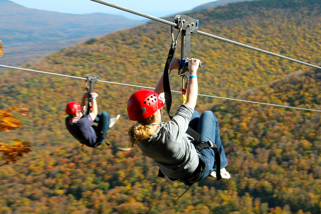 Steals & Deals: Hunter Mountain Zipline