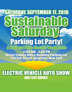Sustainable Saturday Parking Lot Party