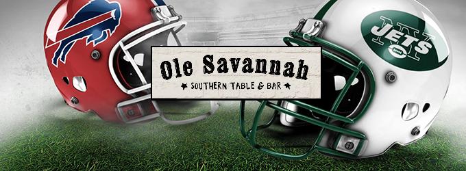 Win NFL Tickets at Ole Savannah!