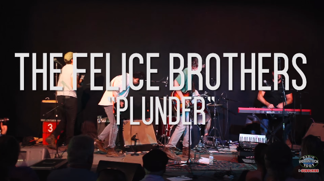 """VIDEO: The Felice Brothers perform """"Plunder"""""""
