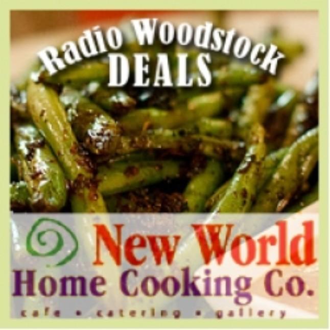 Steals & Deals: New World Home Cooking