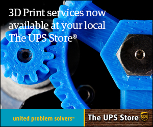 UPS Store offering 3D Printing