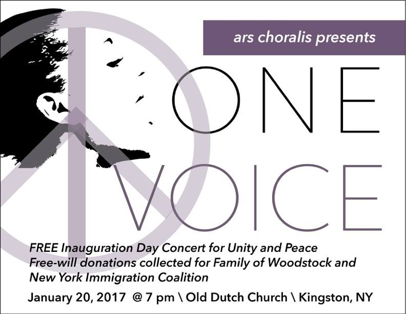 """""""ONE VOICE"""" A Concert to Promote Unity & Peace"""