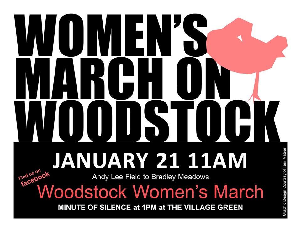 Women's March on Woodstock