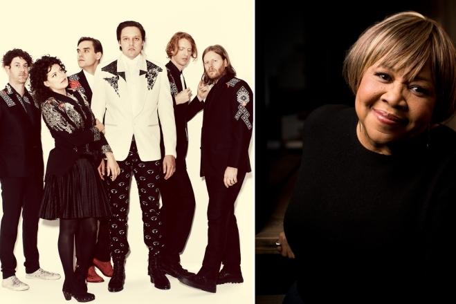 HEAR WHAT'S NEW: Arcade Fire / Mavis Staples – I Give You Power