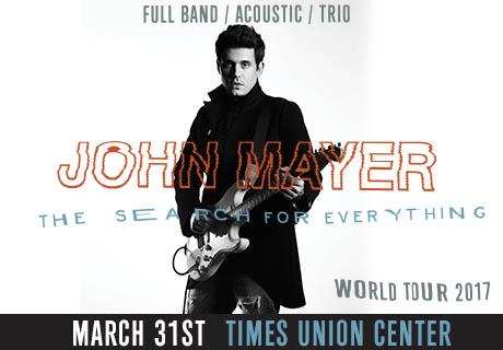 Enter to win: John Mayer