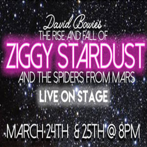 ZIGGY STARDUST – LIVE ON STAGE