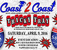 Coast 2 Coast Dance Tricky Tray