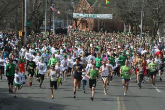 St. Patrick's Day Parade and Shamrock Run Kingston