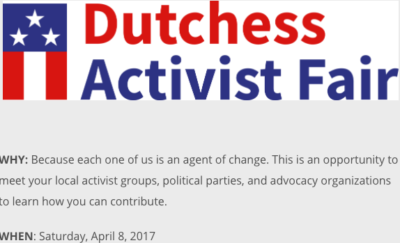 Dutchess Activist Fair