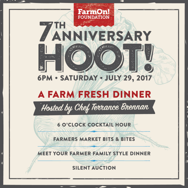 FarmOn! Foundation 7th Annual Hoot!