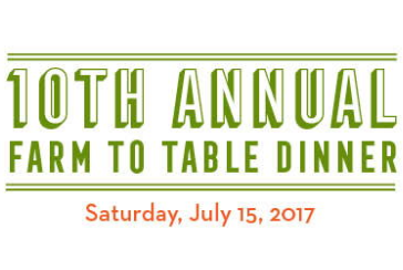 10th Annual Farm to Table Dinner