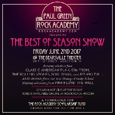 The Paul Green Rock Academy – The Best of Season Show