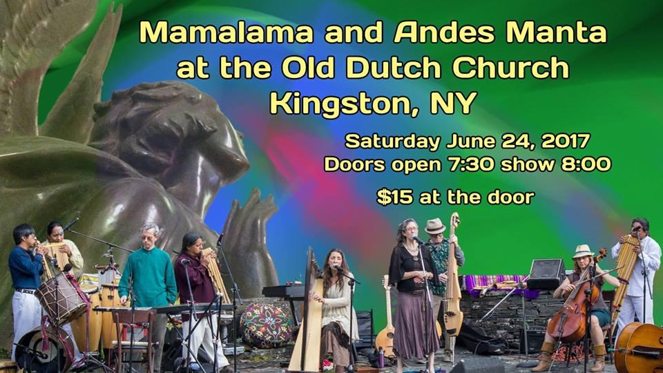 Andes Manta and Mamalama