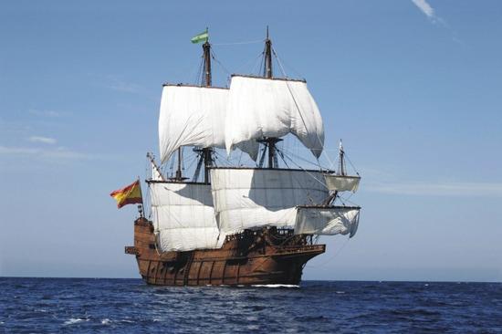 Spanish Galleon Visits Kingston