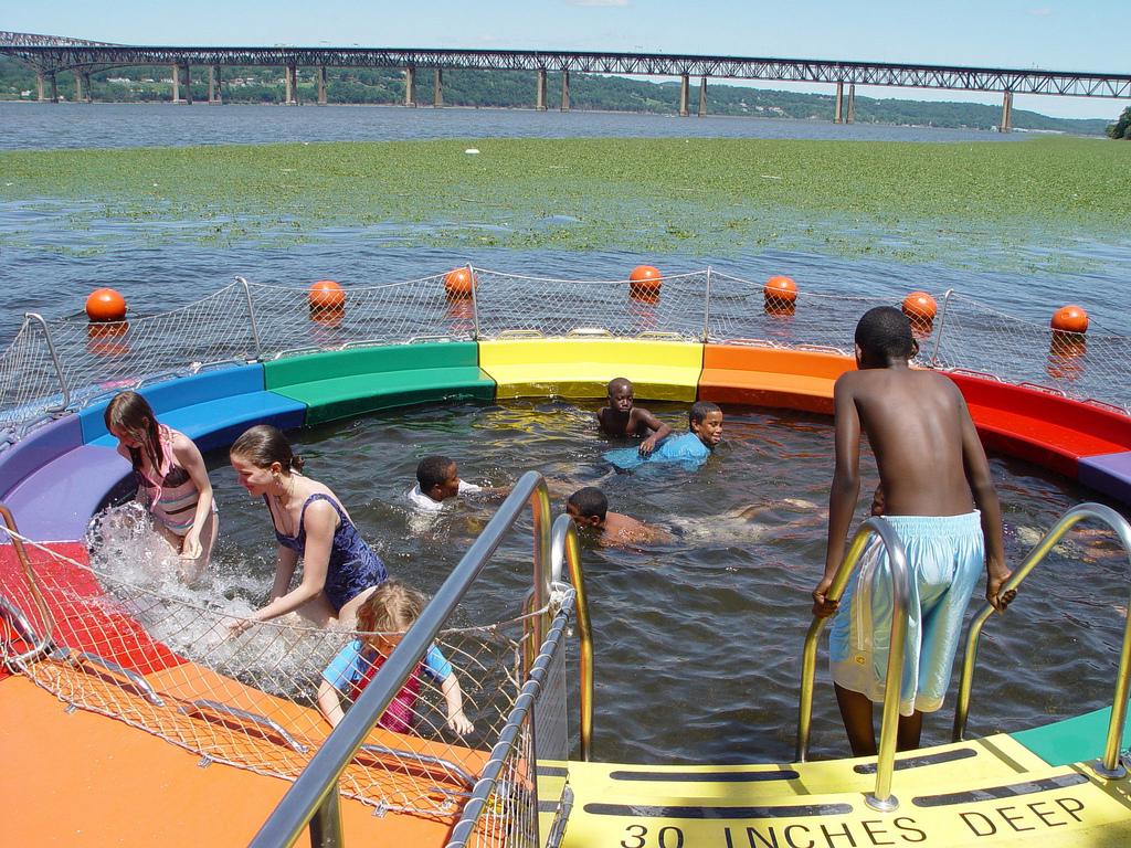 The 14th Annual Great Newburgh to Beacon Hudson River Swim