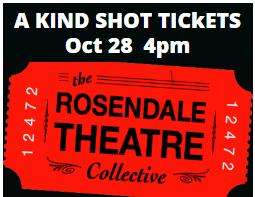 A Kind Shot – October 27 & 28