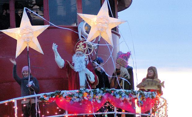 Sinterklaas Send-Off Celebration, Kingston, New York