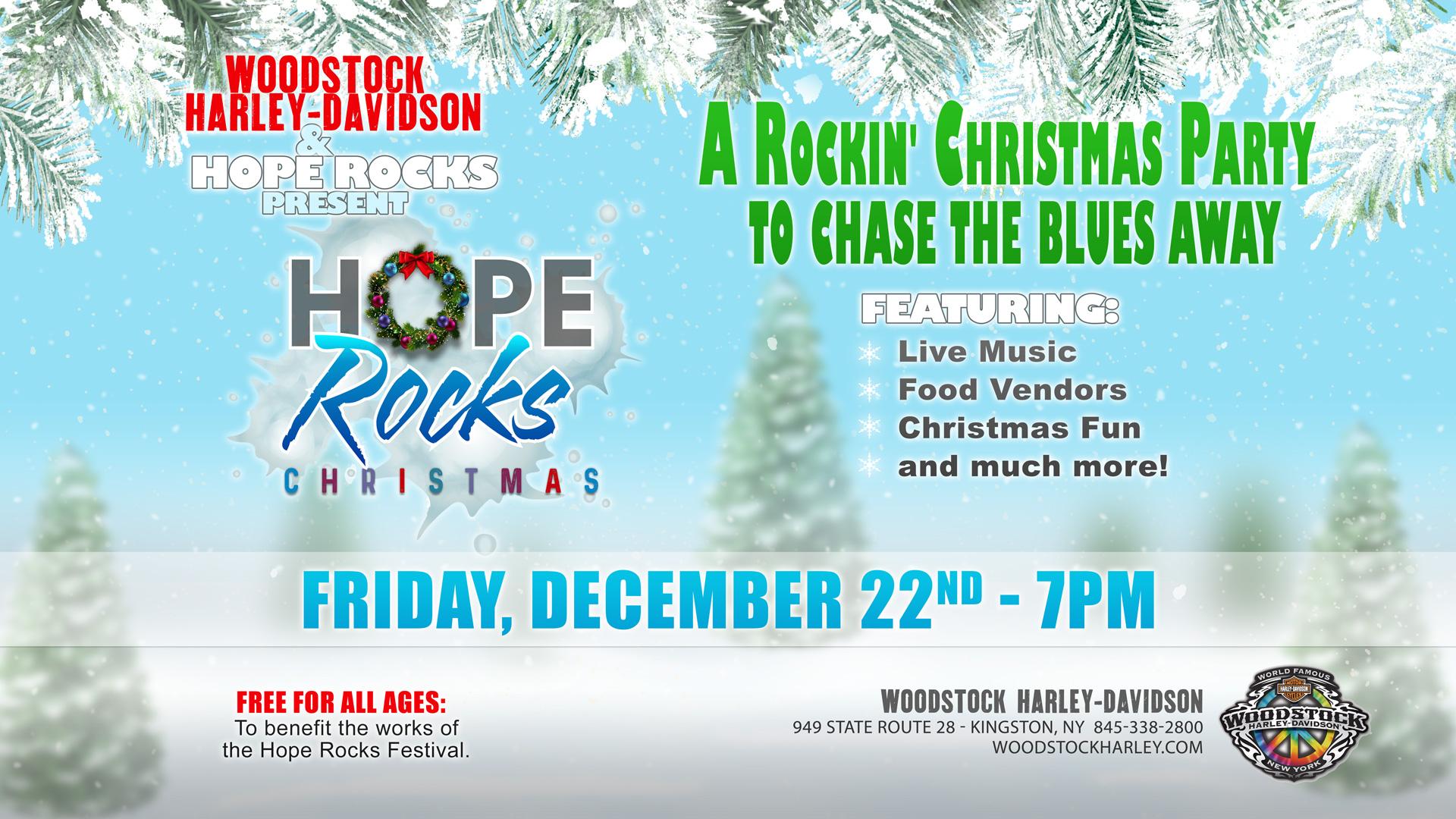 Hope Rocks/Woodstock Xmas Party
