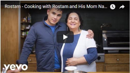VIDEO: Cooking with Vampire Weekend's Rostam and his Mom