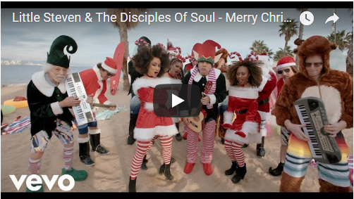VIDEO: Little Steven & The Disciples Of Soul – Merry Christmas (I Don't Want to Fight Tonight)