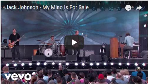 VIDEO: Jack Johnson – My Mind is For Sale (Live on Jimmy Kimmel)