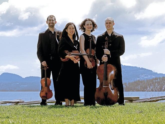 Chiara String Quartet concert