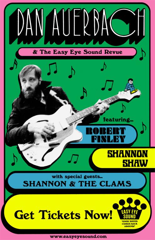 Dan Auerbach & The Easy Eye Sound Revue featuring Robert Finley, Shannon Shaw
