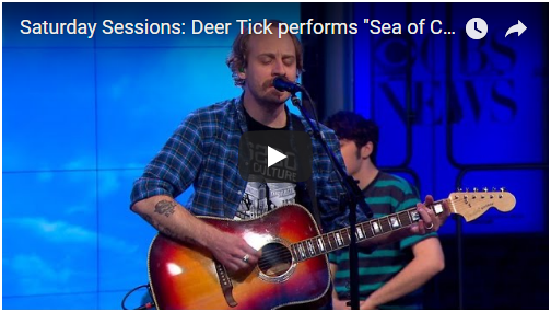 """VIDEO: Deer Tick performs """"Sea of Clouds"""" on CBS This Morning"""