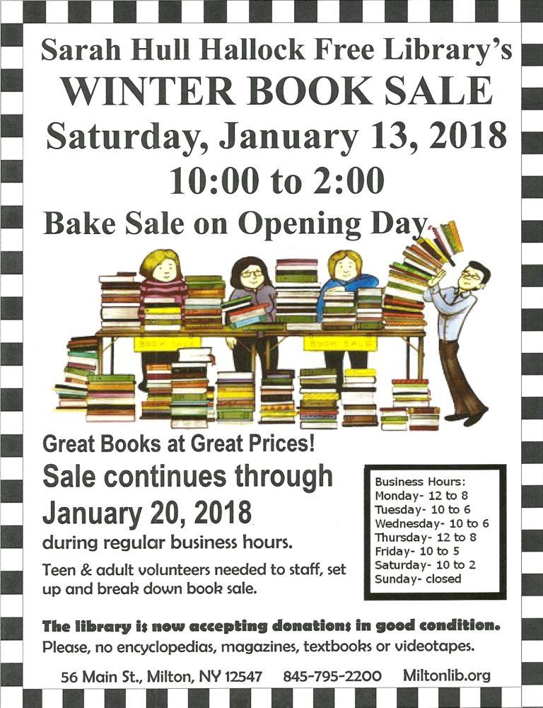 Book & Bake Sale