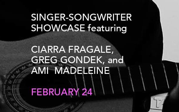 Singer-songwriter Showcase
