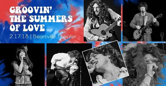 """Groovin' """"The Summers of Love"""" – 2/17/18"""