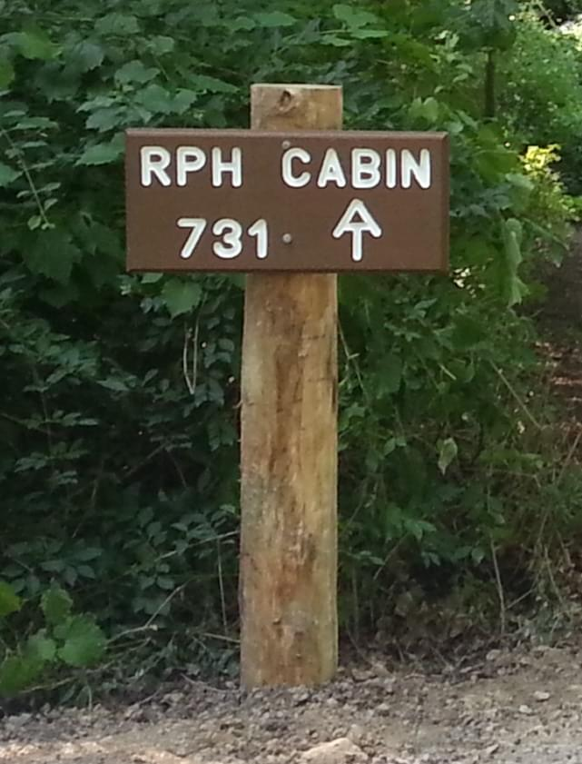 Opening of RPH Cabin on AT footpath