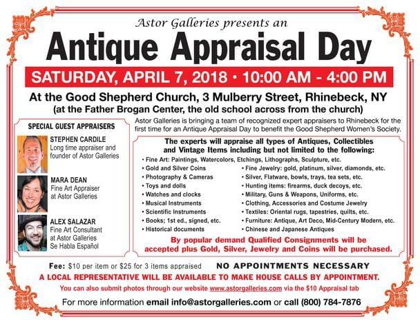 Antique Appraisal Day