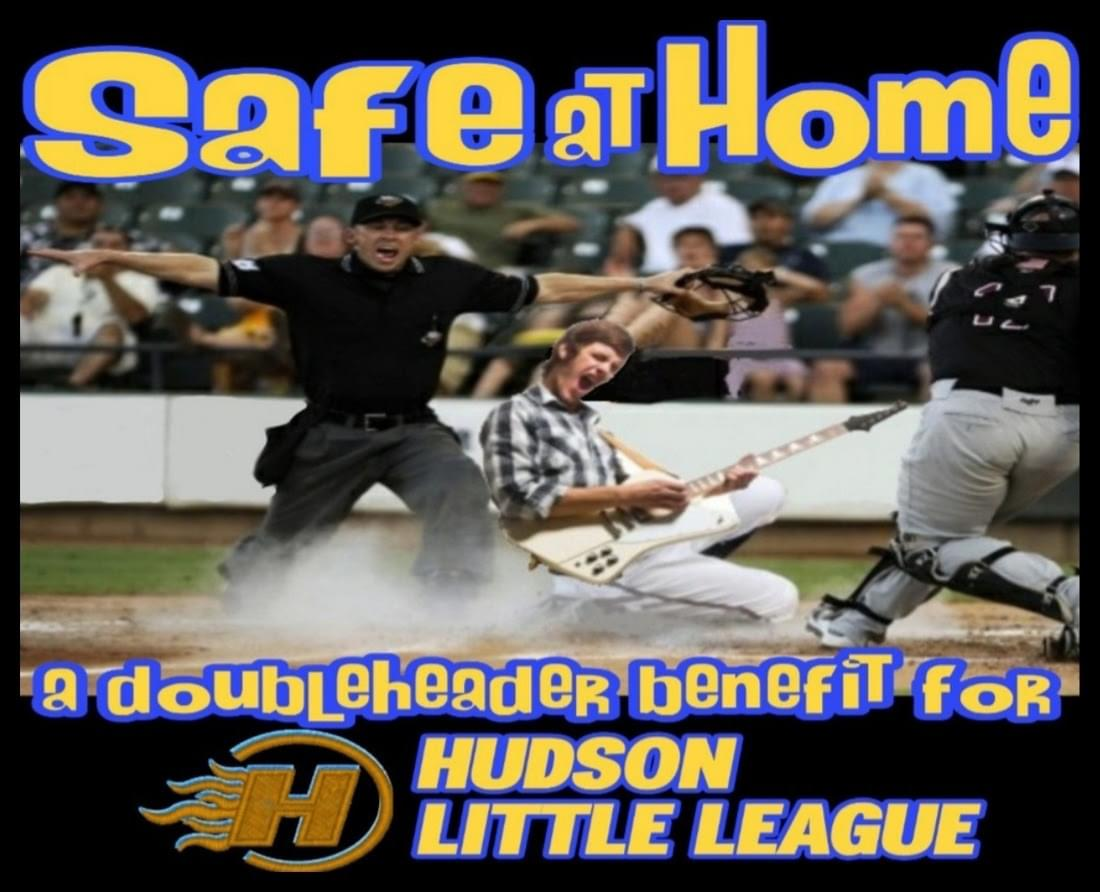 SAFE AT HOME: A Doubleheader Benefit for Hudson Little League w/ Tommy Stinson