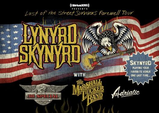 LYNYRD SKYNYRD – LAST OF THE STREET SURVIVORS FAREWELL TOUR