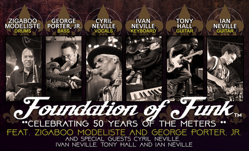 Foundation of Funk – 50 Years of the Meters