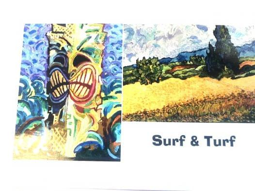Surf & Turf Art Exhibit