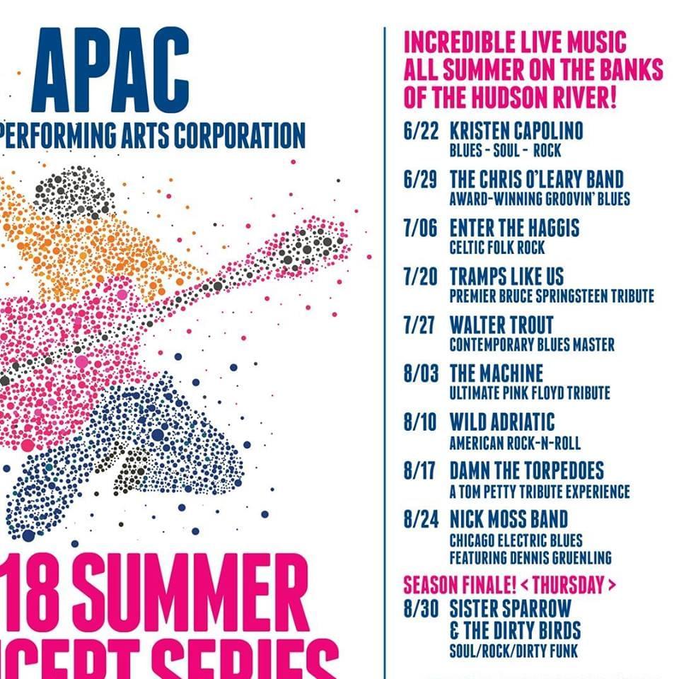 APAC Free Summer Concert Series