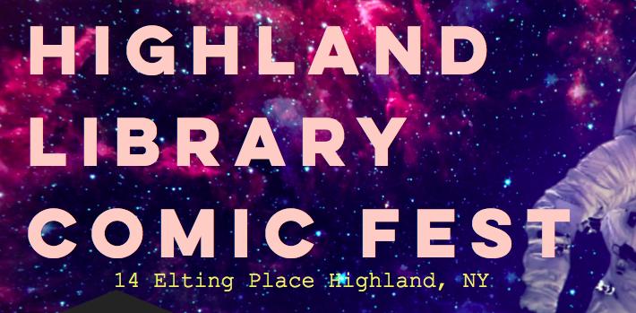 Highland Library Comic Fest