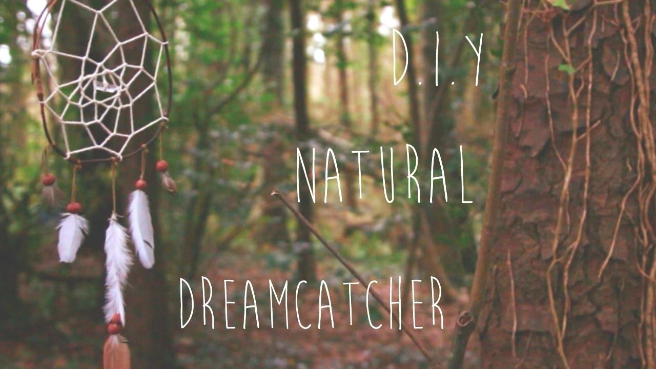 How to Make Natural Dreamcatchers