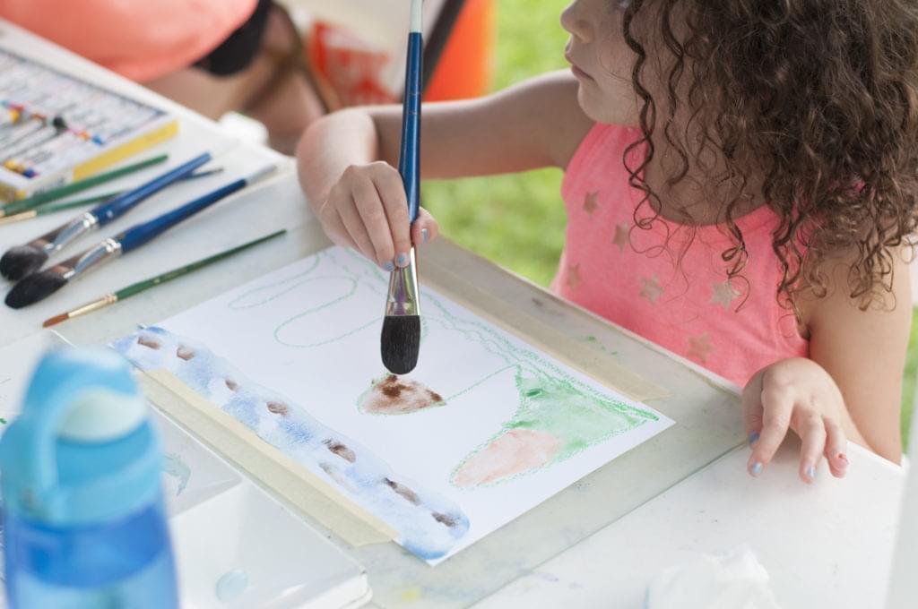 Children & Families: Watercolors