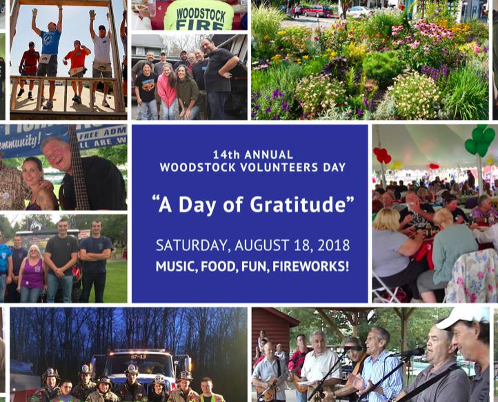 14th Annual Woodstock Volunteers Day