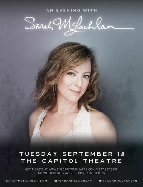 Sarah McLachlan @ The Capitol Theatre