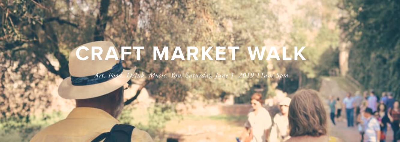 Craft Market Walk