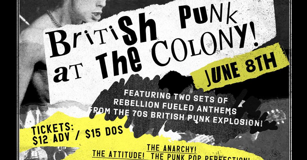 John Gullo Presents British Punk at The Colony