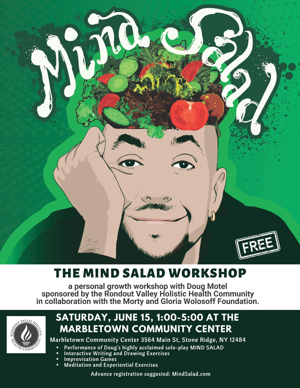 MIND SALAD, a workshop with Doug Mo